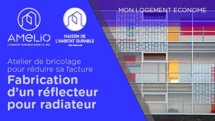 Petit bricolage pour réduire sa facture d'énergie : fabrication d'un réflecteur pour radiateur