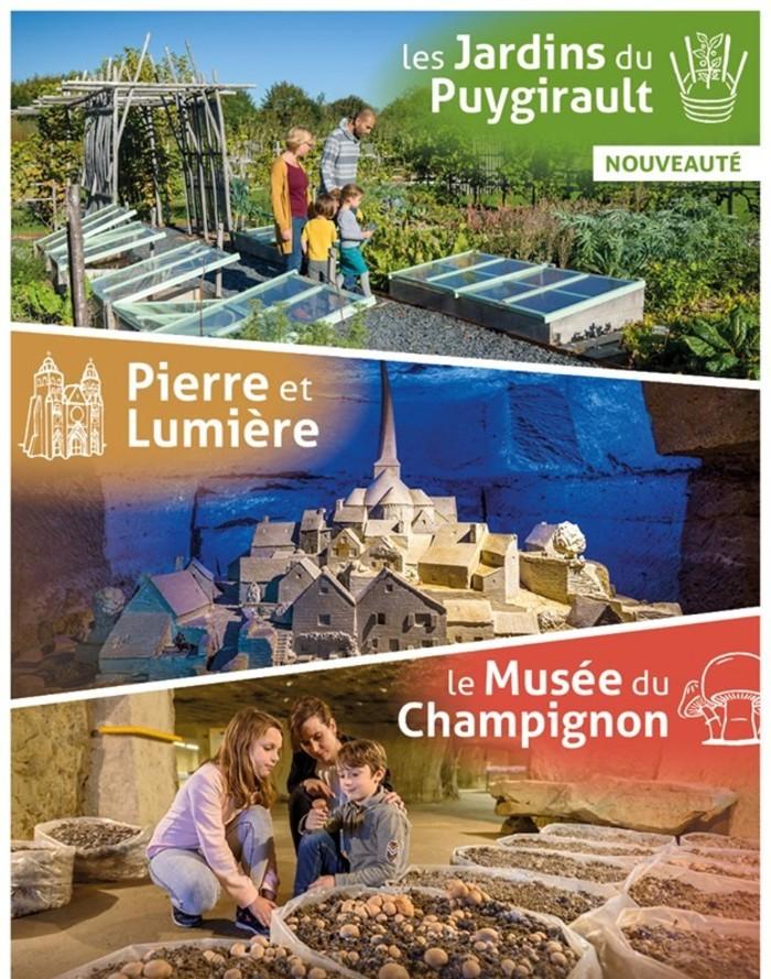 Journées du patrimoine 2019 - Saumur TrogloNature : 3 sites touristiques en un même lieu !