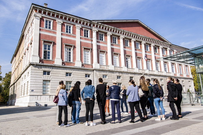 Journées du patrimoine 2020 - Visite à deux voix du Palais de justice