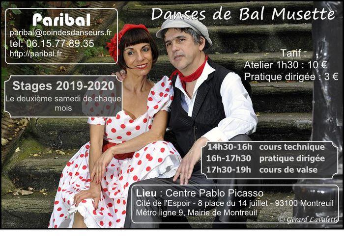 Ateliers de danses de bal