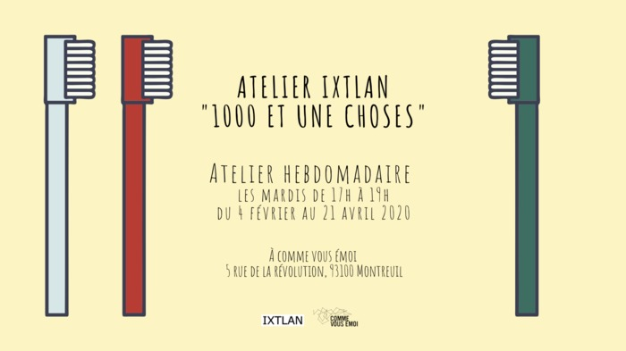 Atelier 1001 Choses