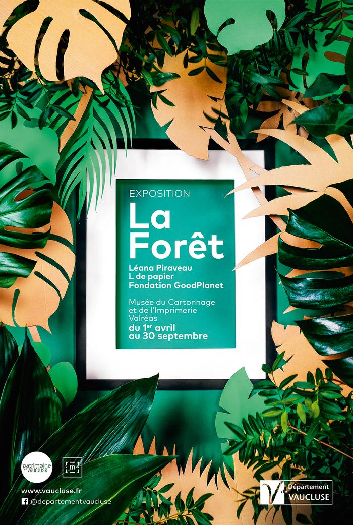 Journées du patrimoine 2019 - Exposition La Forêt au Musée du Cartonnage