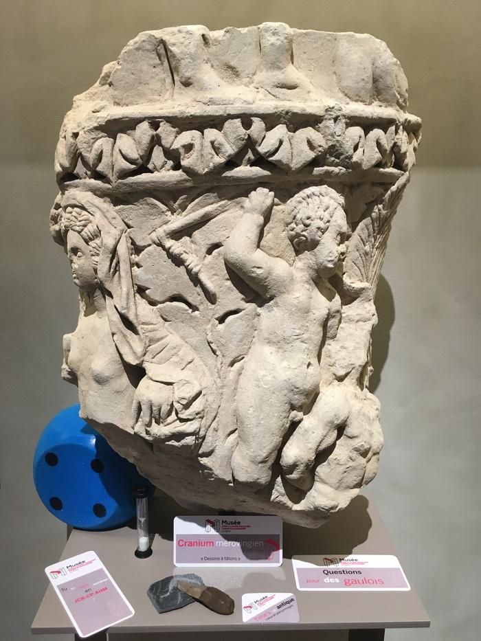 Journées du patrimoine 2020 - Visite ludique des collections d'archéologie
