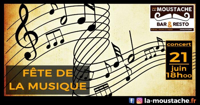 Fête de la musique 2019 - Soirée musicale à La Moustache !