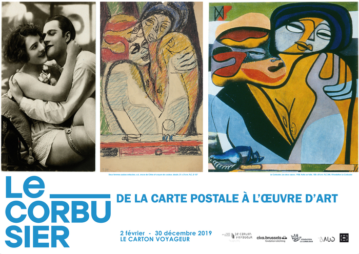 Nuit des musées 2019 -Le Corbusier de la carte postale à l'oeuvre d'art
