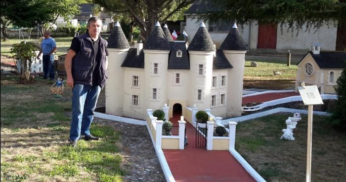 Journées du patrimoine 2020 - Visite du mini-golf privé de Beauvau