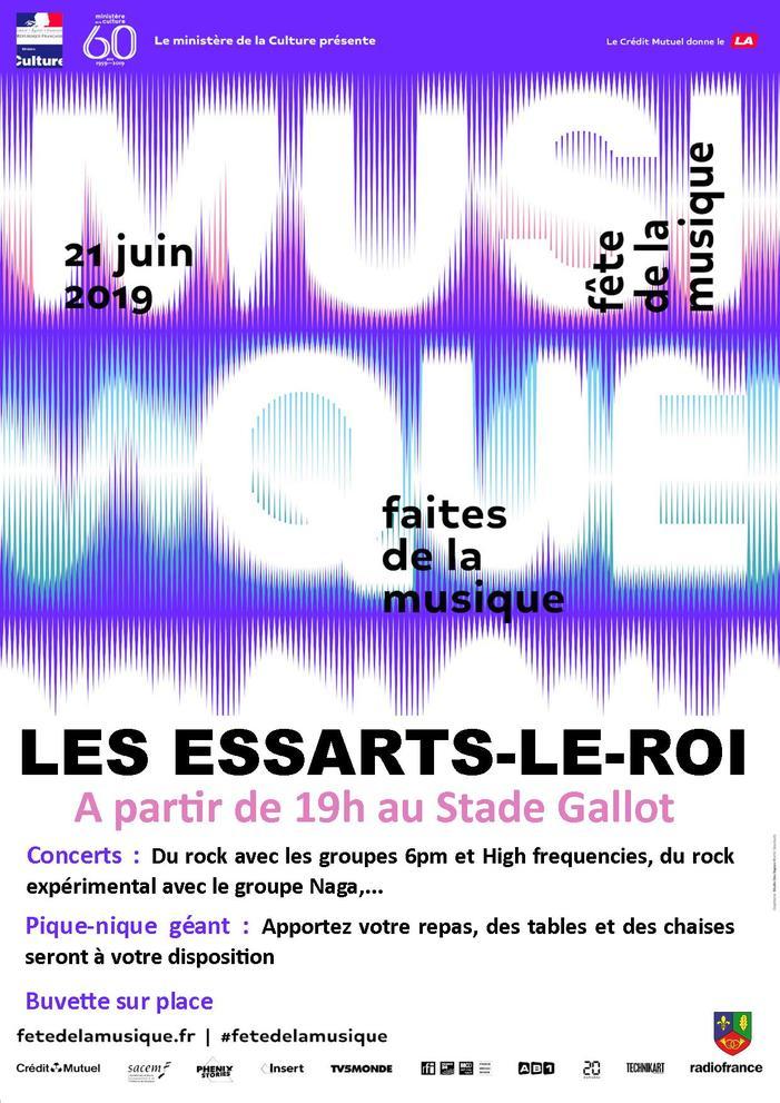 Fête de la musique 2019 - 6pm / High frequencies / Naga