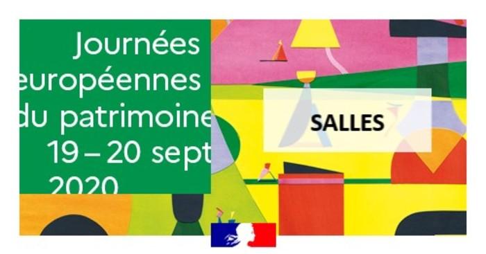 Journées du patrimoine 2020 - Après-midi récréatif à la médiathèque municipale de Salles
