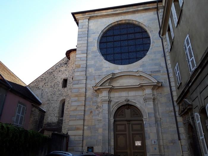 Journées du patrimoine 2019 - Visite de l'église des Jacobins de Poligny