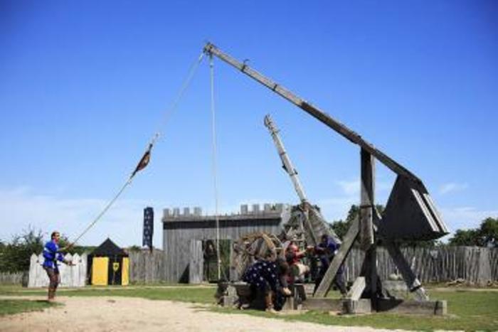 Journées du patrimoine 2020 - Découverte du conservatoire des machines de guerre médiévales