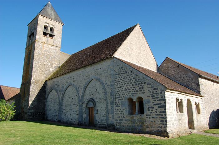 Journées du patrimoine 2019 - Visite libre de l'église Saint-Loup de Châtenoy