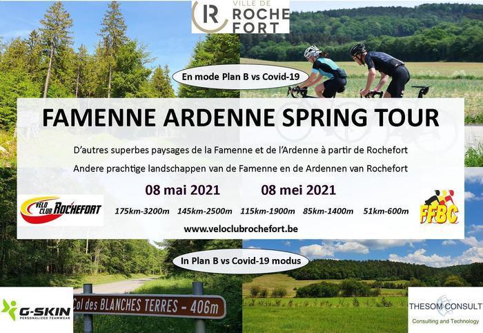 Vélo Club Rochefort - Samedi 08 mai 2021 - Famenne Ardenne Spring Tour - Mode