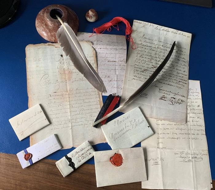 Journées du patrimoine 2020 - ANNULÉ - Atelier : écrire une lettre comme au Grand Siècle