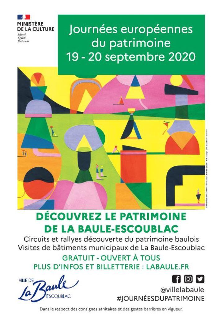 Journées du patrimoine 2020 - « Histoire et mystère à La Baule »