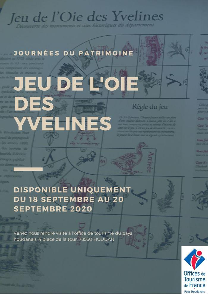 Journées du patrimoine 2020 - Jeu de l'oie des Yvelines