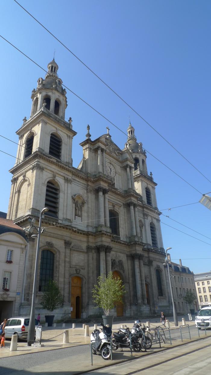 Journées du patrimoine 2019 - Visite scolaire de la cathédrale de Nancy