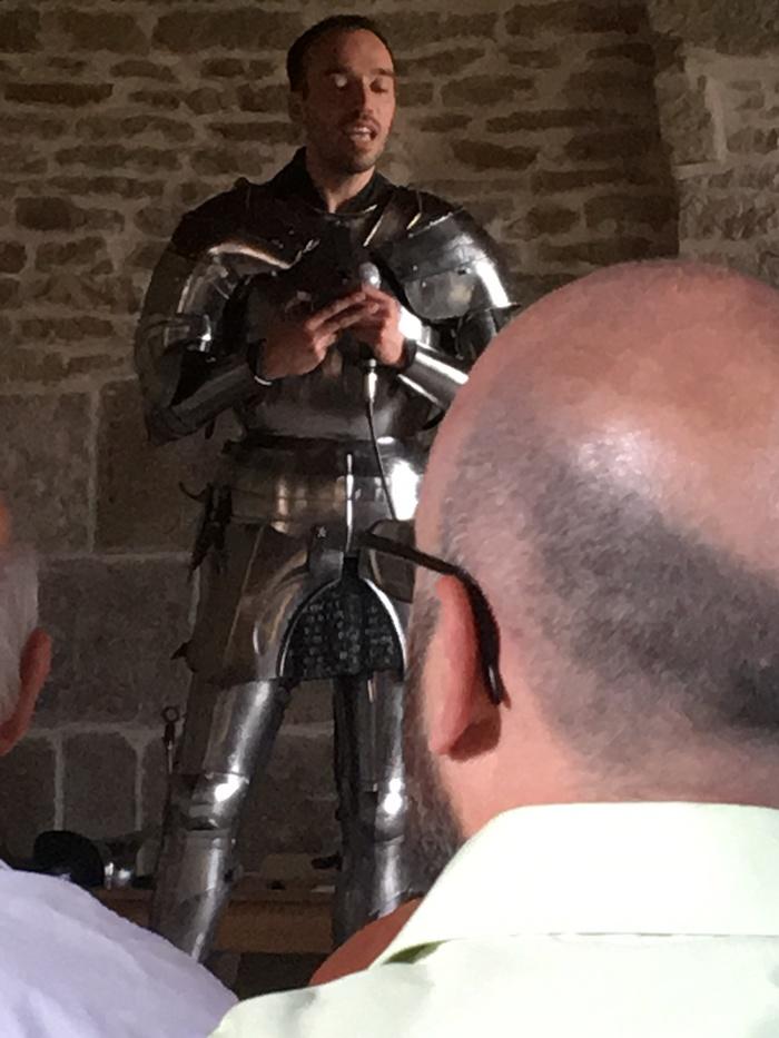 Journées du patrimoine 2019 - Combats de chevaliers en armures