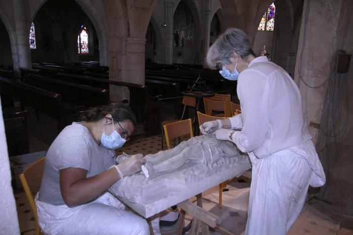 Journées du patrimoine 2020 - Les métiers de la restauration d'oeuvres d'art