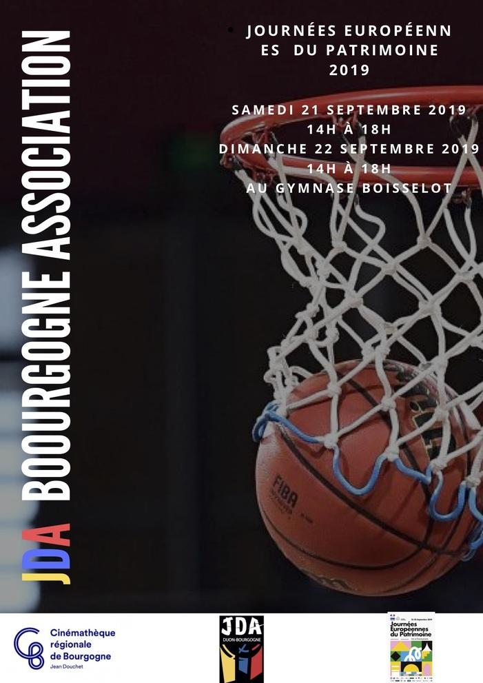 Journées du patrimoine 2019 - JDA Association - Projections de films sur le basketball