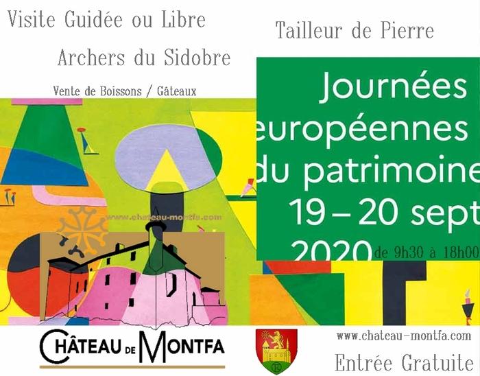 Journées du patrimoine 2020 - Visite libre, guidée et démonstration
