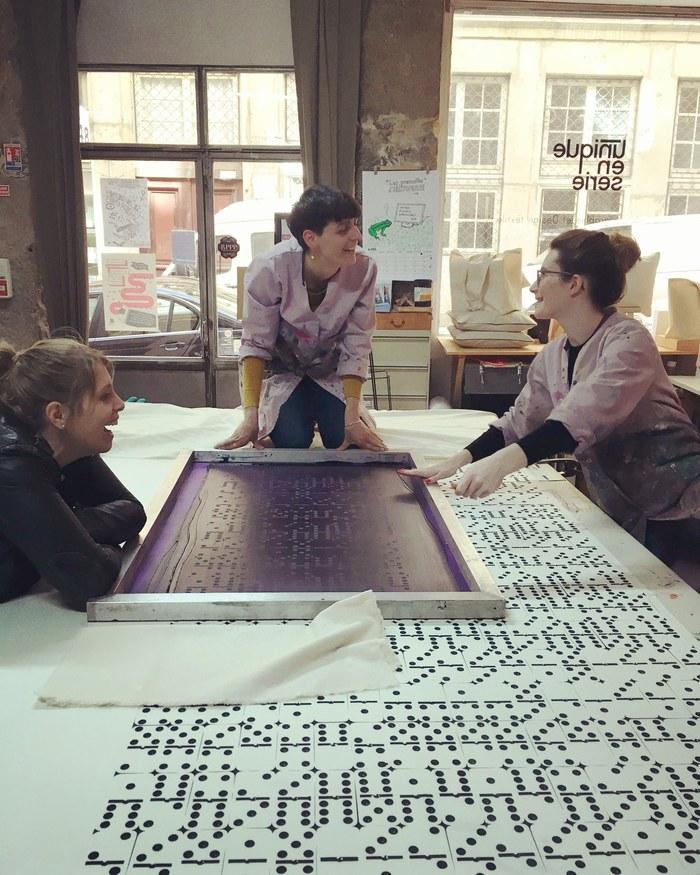 Journées du patrimoine 2019 - Visite d'un atelier de sérigraphie artisanale