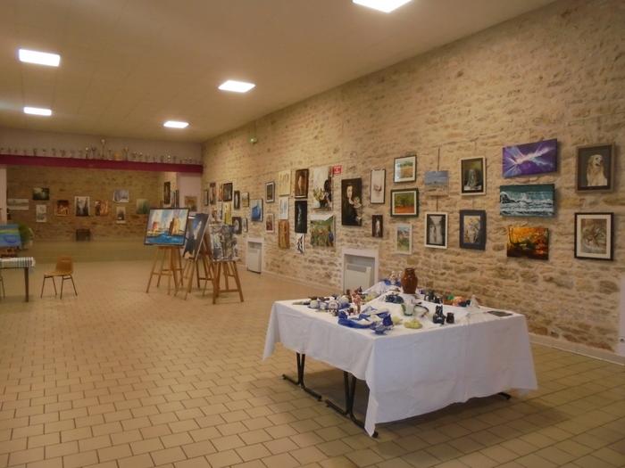 Journées du patrimoine 2019 - Découverte d'une exposition de peinture