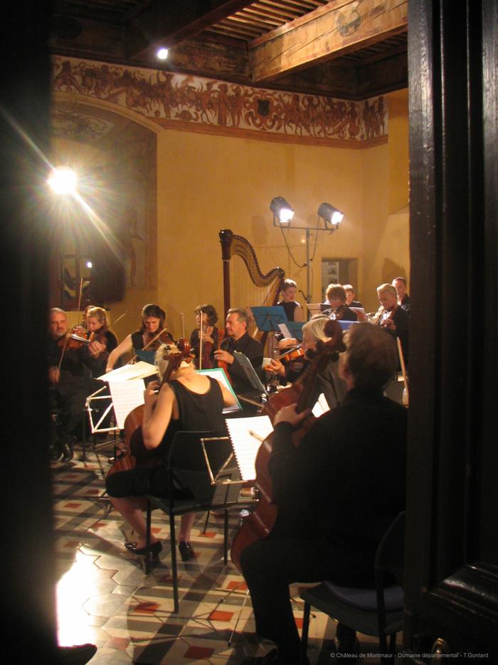 Journées du patrimoine 2020 - Moments musicaux au château de Montmaur - Domaine départemental des Hautes-Alpes