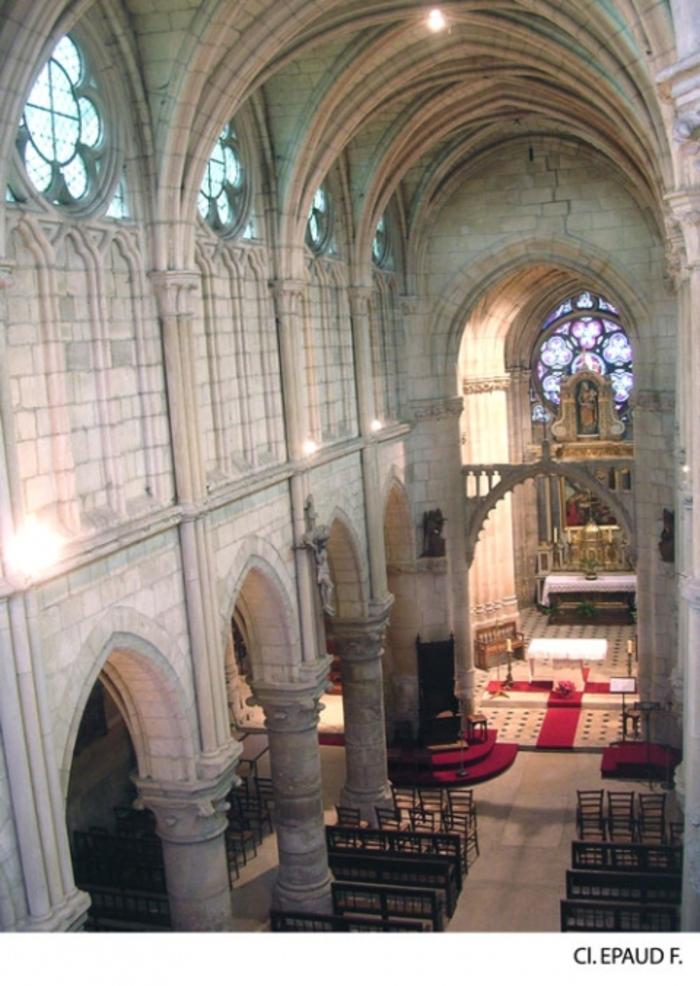 Journées du patrimoine 2020 - Visite guidée de l'église de Champagne-sur-Oise