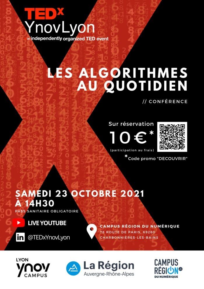 TEDxYnovLyon - Les algorithmes au quotidien
