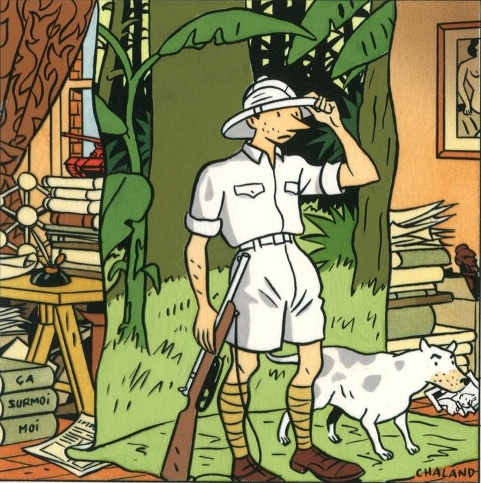 Journées du patrimoine 2020 - Yves Chaland, une vie en dessins