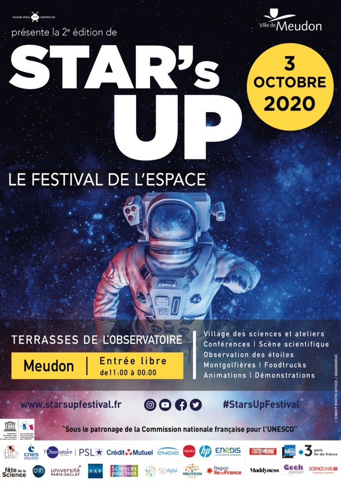 STAR's UP, le festival de l'espace
