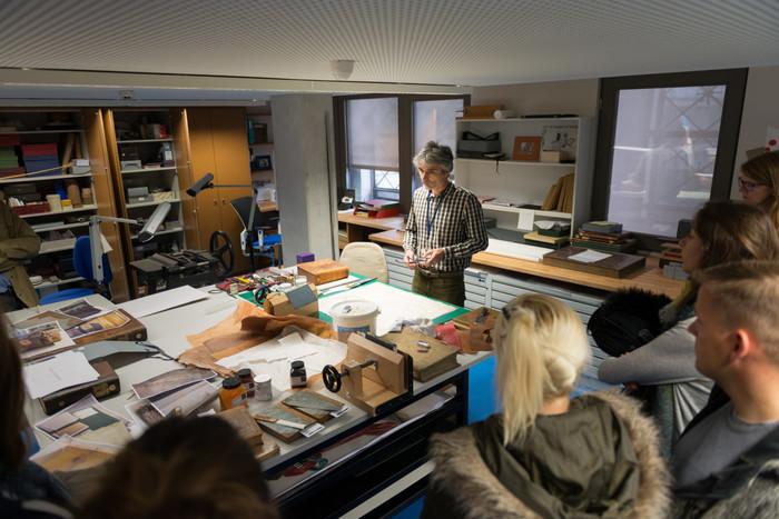 Journées du patrimoine 2020 - L'atelier de restauration de la Bnu