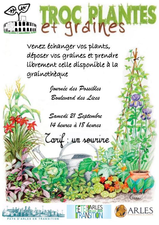 Echange plants et graines