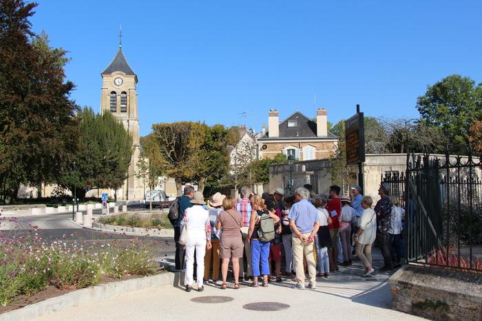 Journées du patrimoine 2020 - Visite de l'église Notre-Dame et balade soiséenne