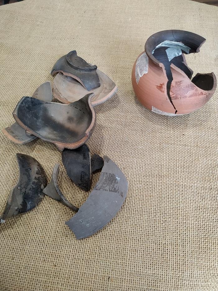 Journées du patrimoine 2020 - Atelier « L'archéologue recolle les pots »