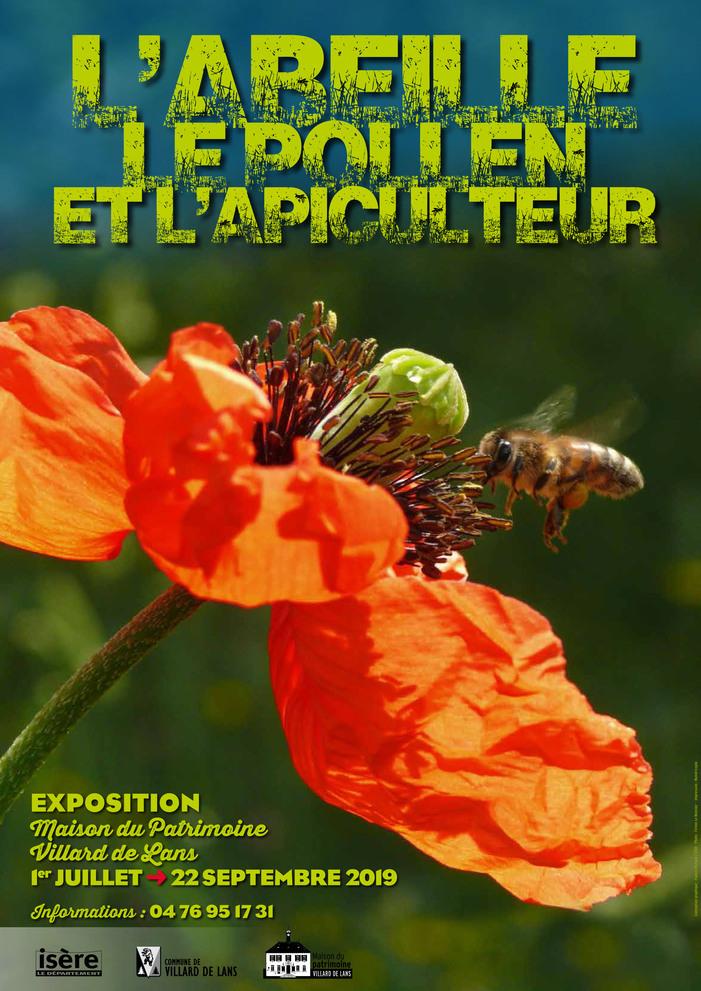Journées du patrimoine 2019 - Exposition « L'abeille, le pollen et l'apiculteur »
