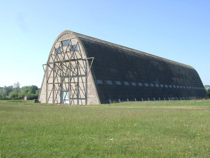 Journées du patrimoine 2020 - Visite du hangar à dirigeables d'Ecausseville