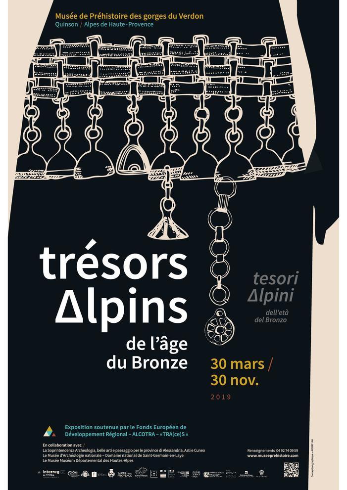 Journées du patrimoine 2019 - Visites guidées exposition Trésors alpins de l'âge du Bronze