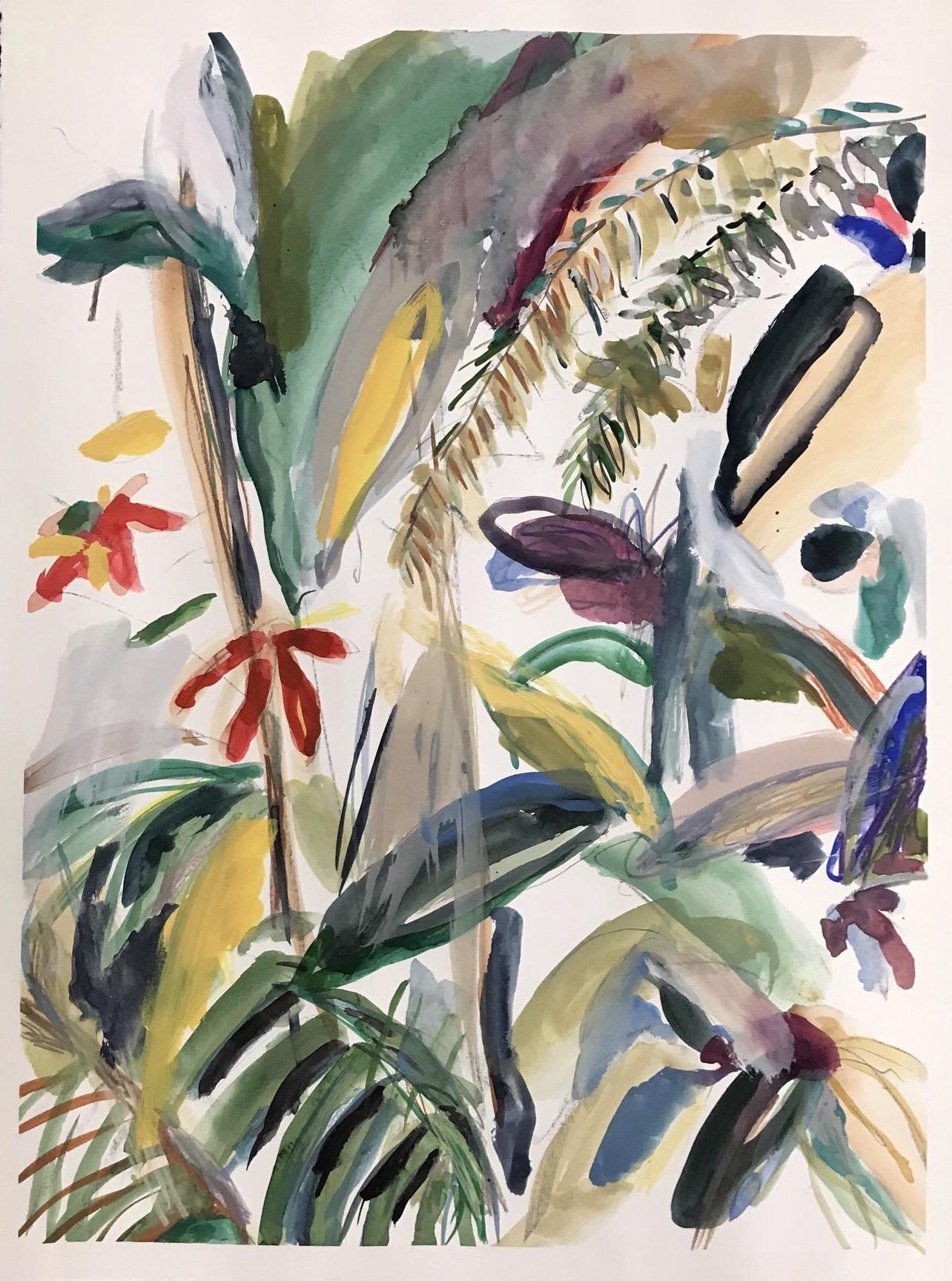 La galerie VASTE HORIZON (ex-la marchande des 4 saisons) présente le premier solo show de Sophie Kitching à Arles, dont les œuvres vous transportent dans une nature intérieure, sombre ou flamboyante.