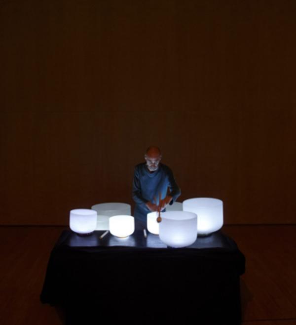 Nuit des musées 2019 -Concert avec les bols chantants en cristal, Frédéric Nogray