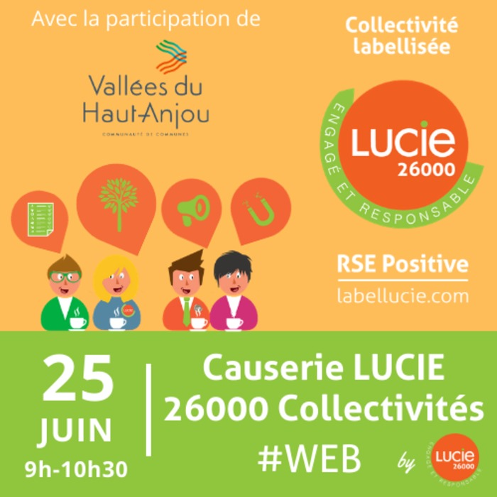 Causerie web LUCIE 26000 Collectivités by LUCIE