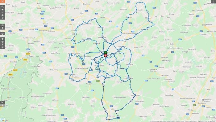 Vélo Club Rochefort - Sortie du dimanche 29 mars 2020 - Gr. 1 - Sortie annulée (lutte contre le coronavirus).