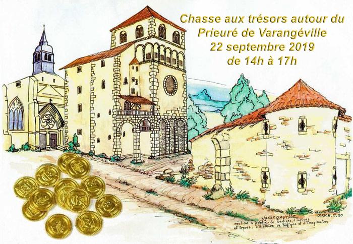 Journées du patrimoine 2019 - Chasse aux trésors autour du Prieuré de Varangéville