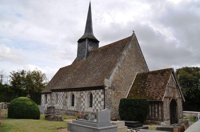 Journées du patrimoine 2020 - Visite libre de l'église Saint-Aubin sur Risles Ajou