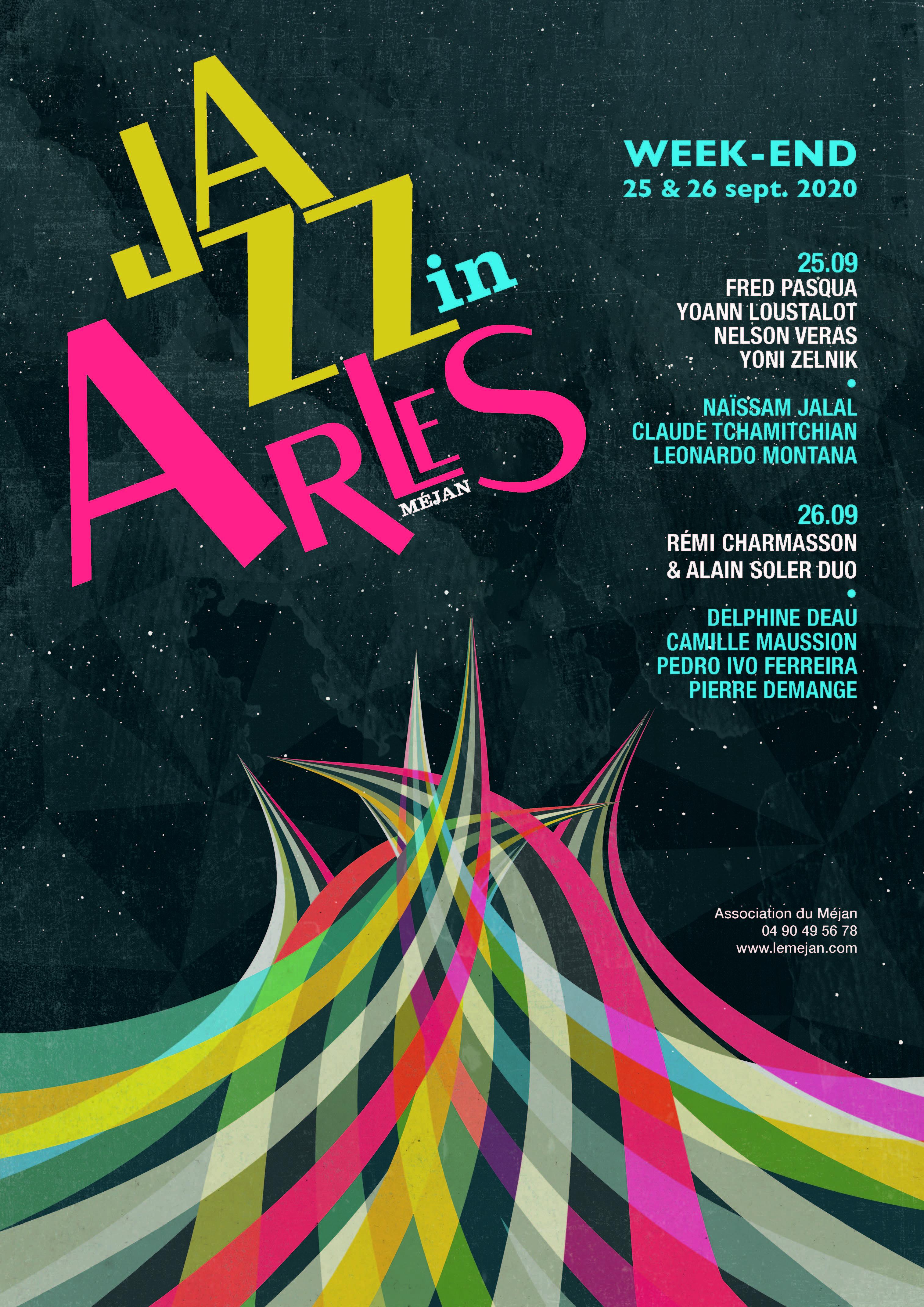 """Le festival """"Jazz in Arles"""" revient pour 2020 sous le format d'un week-end."""