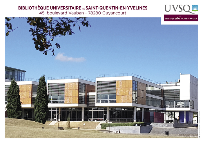 Journées du patrimoine 2020 - ANNULÉ - Visites guidées de la Bibliothèque universitaire de Saint-Quentin-en-Yvelines