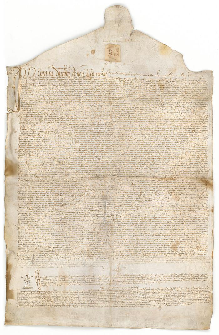 Journées du patrimoine 2019 - Exposition de reproduction de chartes