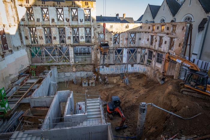 Journées du patrimoine 2019 - Visite de chantier du cinéma