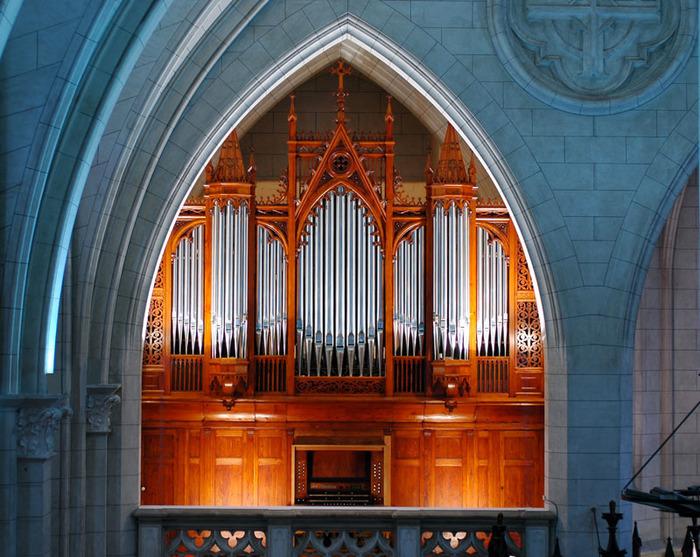Journées du patrimoine 2019 - Visite du buffet d'orgue et démonstration de jeu d'orgue