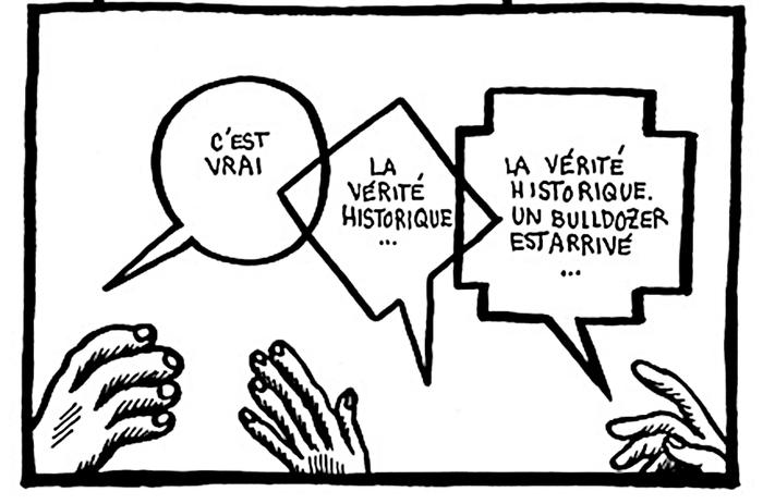 Arpentage de DÉCRIS-RAVAGE, bande dessinée en 3 épisodes d'Adeline Rosenstein et Baladi